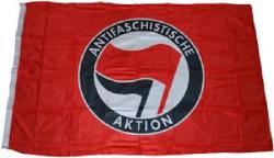 Antifaschistische Aktion (rot/schwarz)