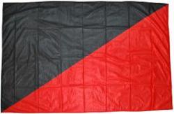 Schwarz/Rote Fahne