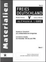 Zeitschrift der antifaschistischen Emigration erschienen in Mexiko von November 1941 bis Juni 1946 (Buch - 460 Seiten, Band 2: Nov. 1942 - Nov. 1943)